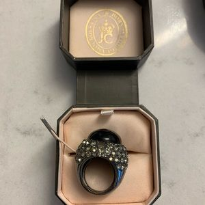 Juicy Couture Adjustable Cocktail ring